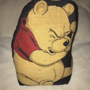 EUC Vintage Winnie the Pooh Door Stop Very Cute.